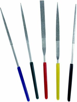 Bandai Gundam Tools Set of 5 Diamond Files