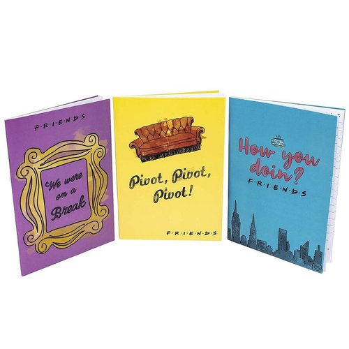 Paladone Friends Set of 3 Notebooks Paladone