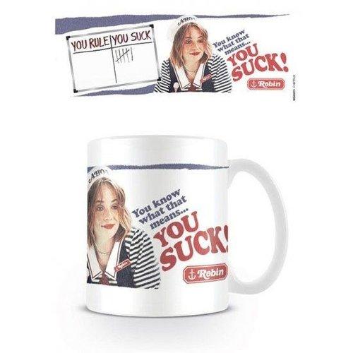 Stranger Things You Suck Mug 315ml