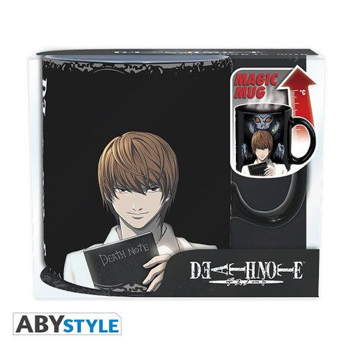 Death Note Kira & L Heat Change Mug 460ml
