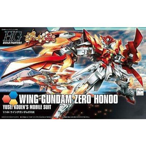 Bandai Gundam HGBF Wing Gundam Zero Honoo 1/144 Build Fighters Model Kit 033