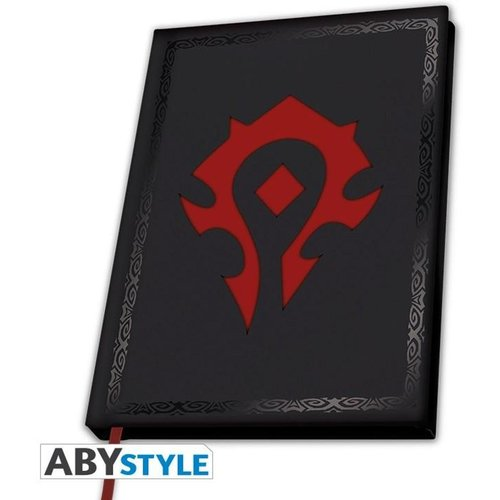 World of Warcraft Horde Notebook A5