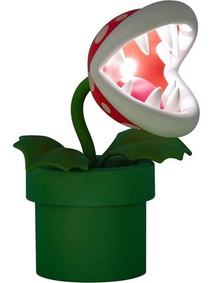 Super Mario Piranha Plant Posable Light USB Powered Paladone