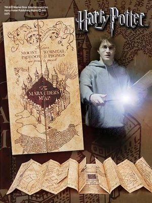 The Noble Collection Harry Potter Marauders Map Noble Collection