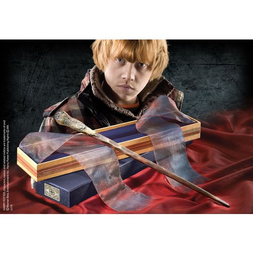 The Noble Collection Harry Potter Ollivander Wand Ron Weasley Noble Collection
