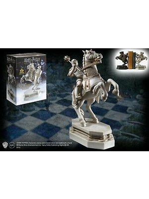 The Noble Collection Harry Potter Wizard Chess Knight Bookend White Noble Collection