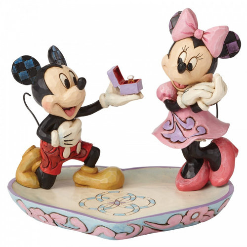 Disney Traditions Disney Traditions A Magical Moment (Mickey Proposing to Minnie Mouse Figurine)