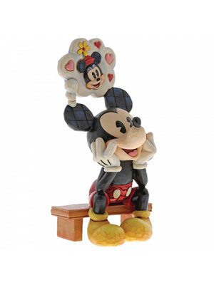 Disney Traditions Thinking of You (Mickey Mouse Figurine)