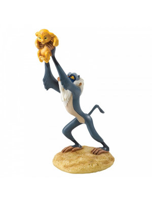 Disney Enchanting Collection A King is Born (Rafiki and Simba Figurine)