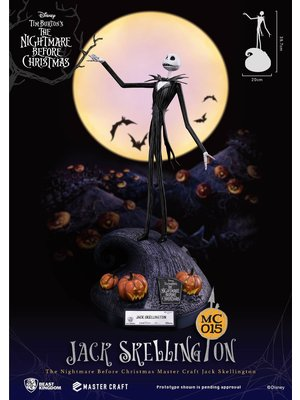 Disney Showcase Nightmare Before Christmas Master Craft Jack Skellington