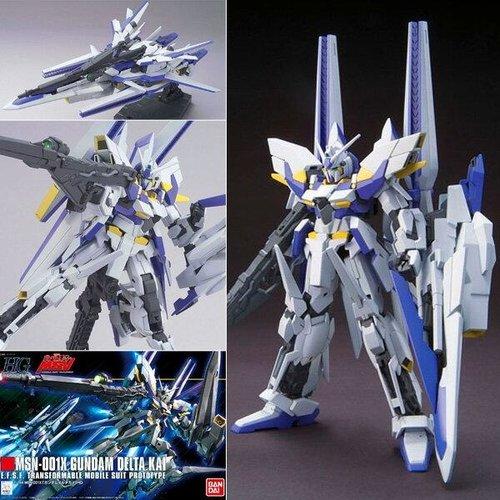 Bandai Gundam HGUC 1/144 MSN-001X Delta Kai Gundam Model Kit