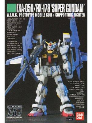 Bandai Gundam HGUC FXA-05D/RX178 Super Gundam 1/144 Model Kit