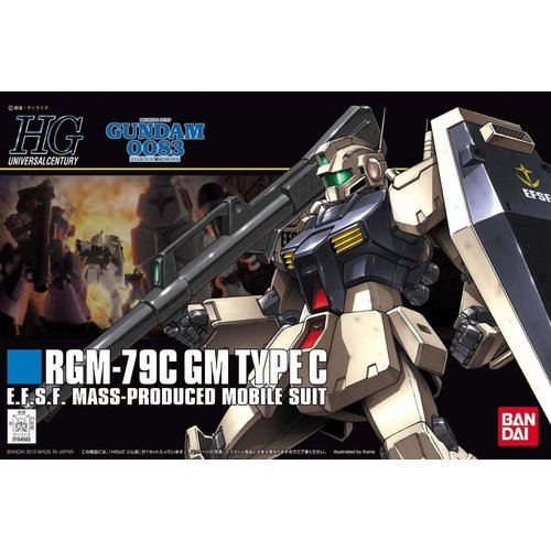 Bandai Gundam HGUC RGM-79 GM Type C 1/144 Model Kit