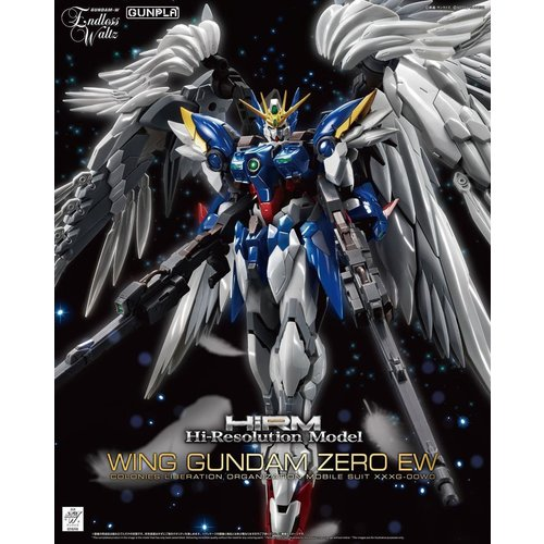 Bandai Gundam Hi-Resolution  Model 1/100 Wing Gundam EW Model Kit