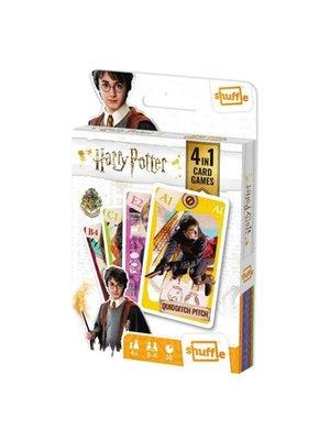 Wizarding World Harry Potter - 4 in 1 - Speelkaarten (Kwartet, memo, snap, actie spel)