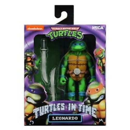 NECA TMNT Leonardo Turtles in Time 18cm NECA