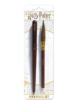 Harry Potter Wand & Broom Pen/Pencil Set