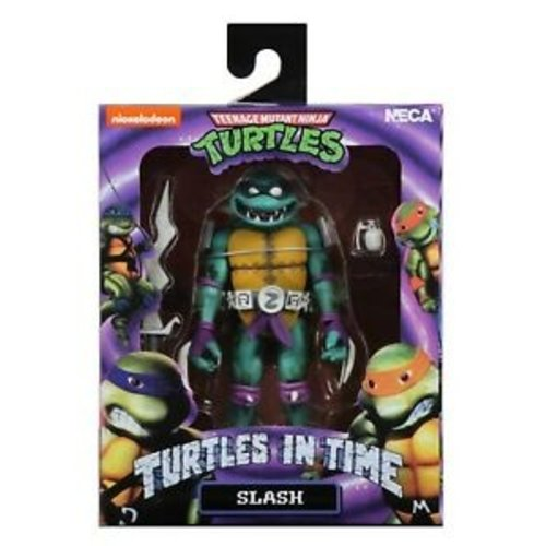 NECA TMNT Slash Turtles in Time 18cm NECA