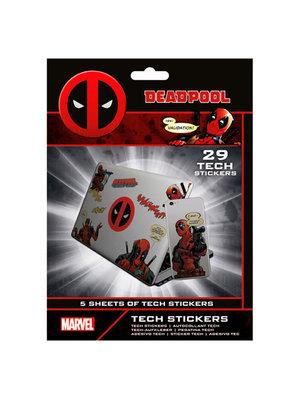 Marvel Deadpool Merc with a Mouth Stickers Set van 29