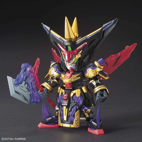 Bandai Gundam SD Sangoku Sokets Dian Wei Gundam Master Model Kit 8cm