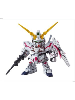 Bandai Gundam SD Gundam EX-Standard 005 Unicorn Destroy Model Kit 8cm
