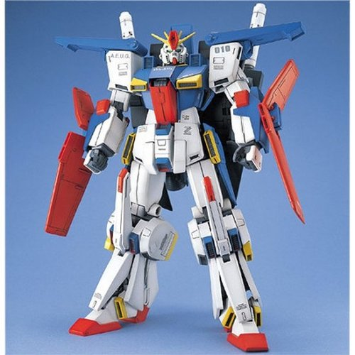 Bandai Gundam MG 1/100 ZZ Gundam MSZ-010 Model Kit