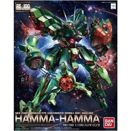 Bandai Gundam RE/100 Hamma - Hamma (Cazmpaign) Model Kit