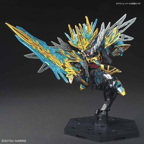 Bandai Gundam SD Sangoku Sokets Tien Ba Cao Cao Wing-G Model Kit 8.5cm