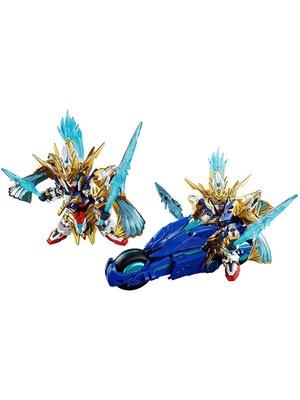 Bandai Gundam SD Sangoku Soketseden Zhao Yun 00 Gundam & Blue Dragon Model Kit 8cm
