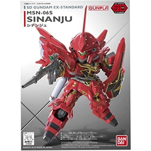 Bandai Gundam SD Gundam Ex-Sandard 014 Sinanju Model Kit 8cm