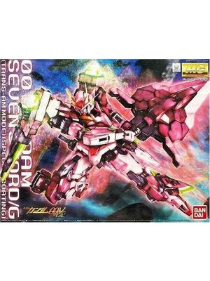 Bandai Gundam MG 1/100 OO 7 Sword Trans-Am Special Coating Model Kit