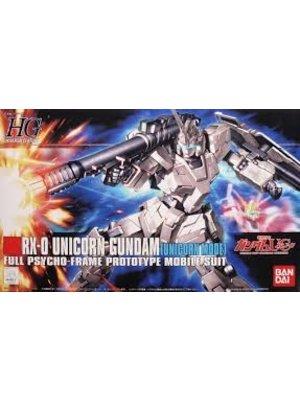 Bandai Gundam HGUC RX-0 Unicorn Scale 1:144 Model Kit