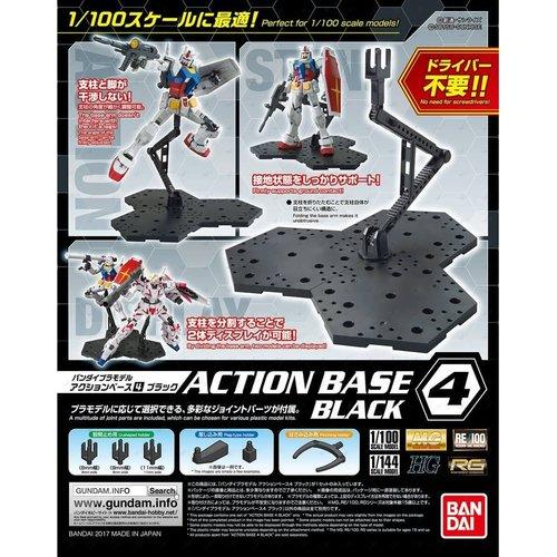 Bandai Gundam Model Kit Action Base 4 Black