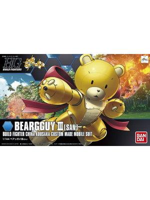 Bandai Gundam HGBF 1/144 Beargguy III  Model Kit 13cm 005