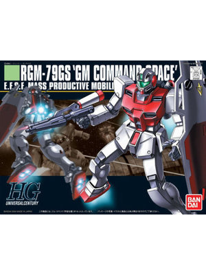 Bandai Gundam HGUC 1/144 Command Space Model Kit 13cm 051