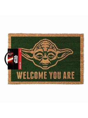 Star Wars Yoda Doormat 60x40 PVC met Kokosvezels
