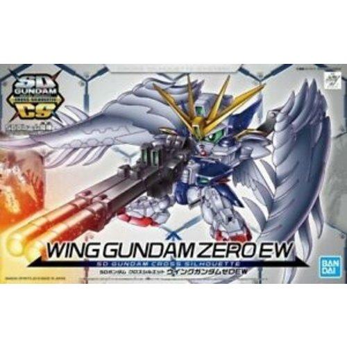 Bandai Gundam SD Cross Silhoutte Wing Zero EW Model Kit 8cm 13