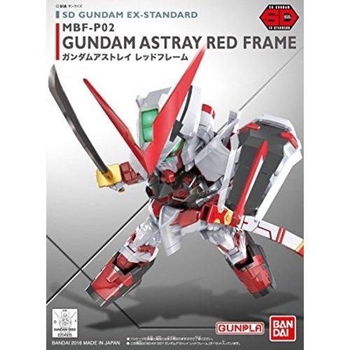 Bandai Gundam SD Gundam  Ex-Standard 007 Gundam Astray Red Frame Model Kit