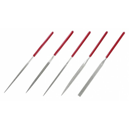 Bandai Gundam Tools Set of 5 Diamond Needle Files 140mm