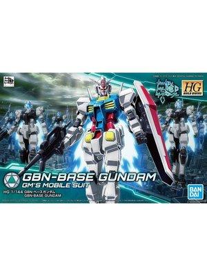 Bandai Gundam HG Build Divers GBN-Base Gundam Model Kit