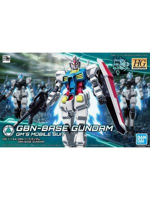 Bandai Gundam HGBD 1/144 GBN-Base 00 SKY HWS (trans-am) Model Kit