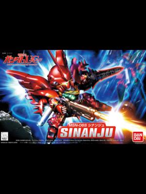 Bandai Gundam SD BB365 Sinanju Model Kit 8cm