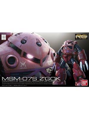 Bandai Gundam RG MSM-07S Z'GoK Char Custom 1/144 Model Kit