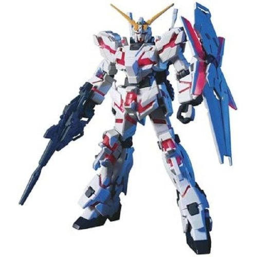 Bandai Gundam HGUC 1/144 RX-0 Unicorn Gundam Model Kit 13cm 100