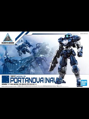Bandai Gundam 30MM 1/144 bEXM15 Portanova Navy Model Kit 14