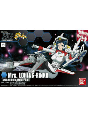 Bandai Gundam Build Fighters HG 1/144 Mrs. Loheng-Rinko Model Kit 067
