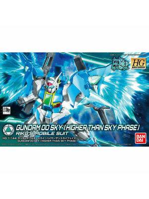 Bandai Gundam HG 1/144 Gundam 00 Sky Higher than Sky Phase Model Kit
