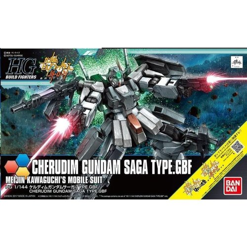 Bandai Gundam HG 1/144 Build Fighters Cherudim Saga Model Kit 064