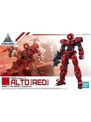 Bandai Gundam 30MM 1/144 eEXM17 - Alto Red Model Kit 07