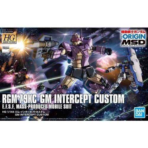 Bandai Gundam The Origin HG 1/144 RGM-79KC GM Intercept Custom Model Kit 023